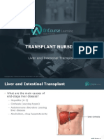 Transplant Nursing Liver Intestines FINAL