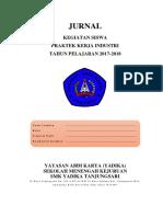 Jurnal Prakerin SMK Yadika Tanjungsari AP