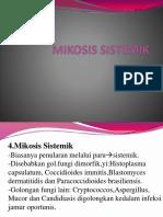 MIKOSIS SISTEMIK