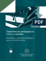 Experiencias pedagogicas. Voces y miradas