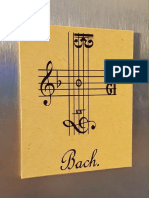 Bach Fugue in Clefs