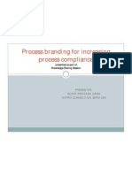 Process Branding for Increasing Process Compliance