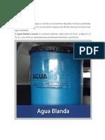Agua Blanda