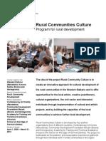 Rural Communities Culture 1