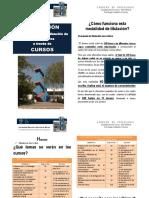 Informacion cursos