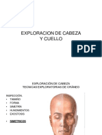 Semiología de Cabeza y Cuello