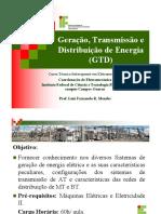 GTD - 1 - Apresentação da disciplina