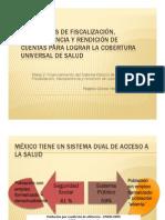 Fiscalizacion Rendicion de Cuentas, Transparencia en Salud