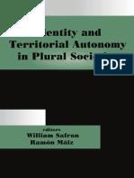 Identity and Territorial Autonomy