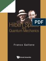 Hilbert Space and Quantum Mecha - Franco Gallone