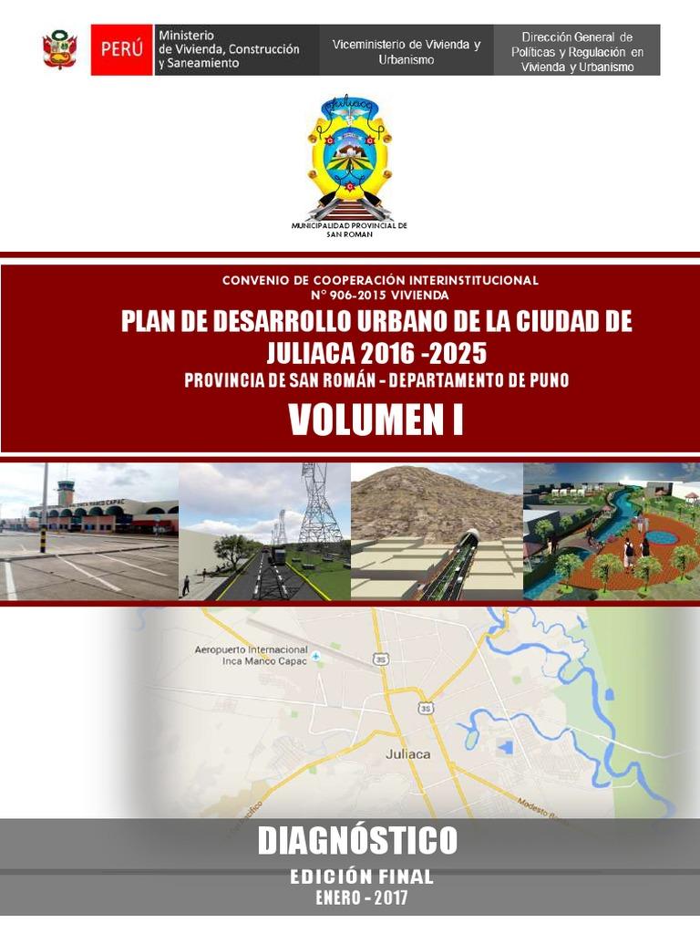 1 volumen 1 pdu juliaca 2016 2025