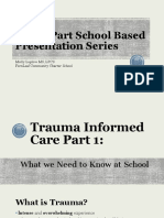 trauma informed care presentation for staff