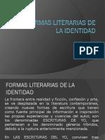 4 Formas Literarias de La Identidad