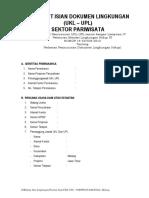 Format Ukl-upl Pariwisata 1