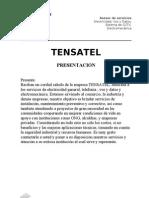 Presentacion TENSATEL