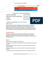Unidad 1 Modelo Educativo Sociocomunitario Productivo