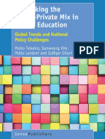 Pedro Teixeira, Sunwoong Kim, Pablo Landoni, Zulfiqar Gilani (Auth.) - Rethinking the Public-Private Mix in Higher Education_ Global Trends and National Policy Challenges (2017, SensePublishers)