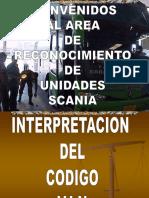 Curso Scania Reconocimiento de Unidades