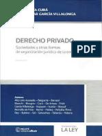 Derecho privado. Sociedades y otras formas de organización juridica de la empresa. Cura%2c Jose Maria