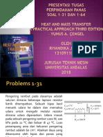 Presentasi Tugas Mandiri Perpindahan Panas Riyandika Jastin 1310911024