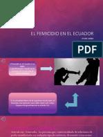 El Femicidio en El Ecuador