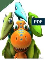 Imagen Padre de Dinosaarios Para Niños