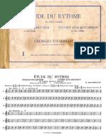 Georges Dandelot - Etude du Rythme - Book 1.pdf