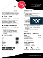 Aaron Speakman Resume