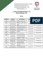 Modelo Quadro Docente Geral- 2015 2º Semestre