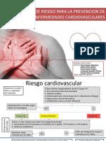 Enfoque de Riesgo Para La Prevencion de Enfermedades Cardiovasculares
