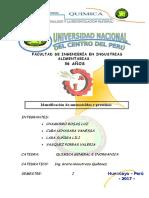 Identificacion de Aminoacidos y Proteinas