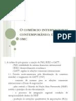 09.Comercio Internacional-GATT a OMC