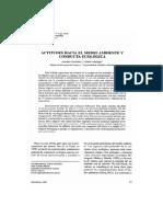 1999 Actitudes hacia el medio ambiente y conducta ecologica.pdf