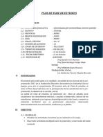 Calendario Para IIEE Rurales 2