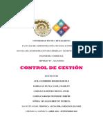 Control de Gestión Grupo 1