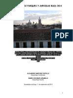 Amature Castillo, Alejandro, Escobar Jaramillo, Daniel Hernando. 2014. Obras Para La Recuperación Del Espacio Publico Del Parque Bolívar