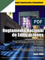 Reglamento Nacional de Edificaciones 2016