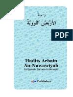 hadis arbain nawawiyah (tanpa terjemah, huruf arab jelas).pdf