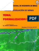 Clase 11_Formalización Minera