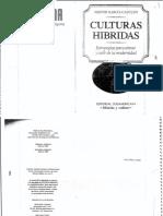 Canclini - culturas hibridas