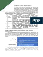 Perbedaan Sistem Informasi Dan Teknik Informatika