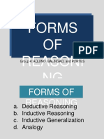 Forms of Reasoning