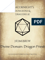 Divine Domain Dragon Priest