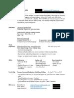resume2 no info