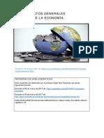 Recurso # 1 de Economia I. Recurso No. 1 Aspectos Generales de La Economía.
