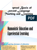 Conceptual Basis of Second Language Teaching and Learning