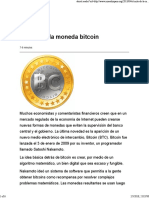 El Mito de La Moneda Bitcoin