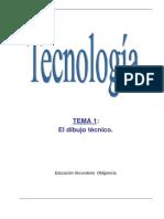 Dibujo Técnico en Tecnología de 1º-3º ESO