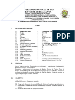 Silabo Operaciones I 2010 - II