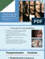 Trastornos de PersonalidadAbril2018